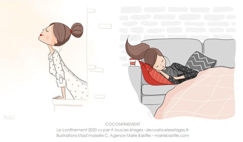 confinement_illustration_Mad-moiselle-C_Agence-Marie-Bastille